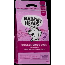 """Barking Heads DOGGYLICIOUS DUCK SMALL ADULT Беззерновой для собак малых пород с Уткой и бататом """"Восхитительная утка"""""""