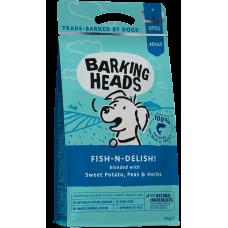 """Barking Heads FISH-N-DELISH! Беззерновой для собак с Лососем, форелью и бататом """"Рыбка-вкусняшка"""""""
