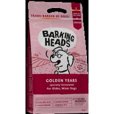 """Barking Heads GOLDEN YEARS FOR SENIOR DOGS для собак старше 7 лет с курицей и рисом """"Золотые годы"""""""