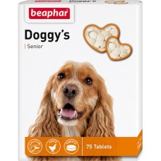 Beaphar Кормовая добавка Doggy's Senior для собак старше 7 лет 75 таблеток
