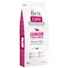 Brit Care Junior Large Breed Lamb&Rice для молодых собак (от 3 месяцев до 2 лет) крупных пород (более 25 кг) с  ягненоком и рисом