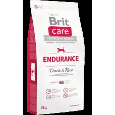 Brit Care Endurance для активных собак всех пород  с уткой и рисом, 12кг