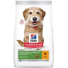 Hill's Science Plan YOUTHFUL VITALITY для пожилых собак малых пород  7+ с курицей