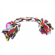 """Papillon Игрушка для собак """"Веревка с 2 узлами"""", хлопок, (Flossy toy 2 knots)"""