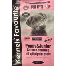 Kennels` Favourite PUPPY & JUNIOR Salmon and Rice для щенков всех пород лосось рис 30/16