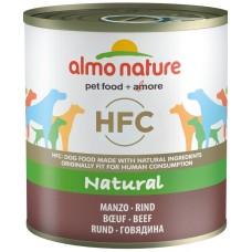 Almo Nature HFC Natural Консервы для собак с Говядиной