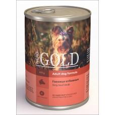 """Nero Gold Консервы для собак """"Говяжьи отбивные"""" (Strip Beef Steak)"""