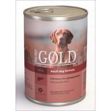 "Nero Gold Консервы для собак ""Печень по-домашнему"" (Home Made Liver)"
