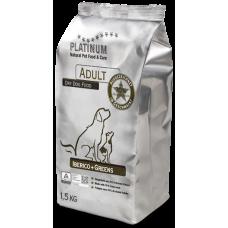 Platinum Adult Iberico Greens полнорационный корм для собак - иберийская свинина