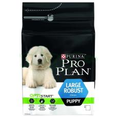 Pro Plan LARGE PUPPY ROBUST OPTISTART корм для щенков крупных пород мощного телосложения с курицей и рисом