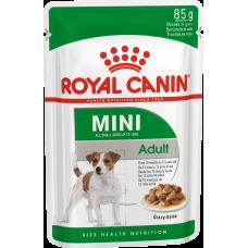 Royal Canin MINI ADULT Влажный корм для собак с 10 месяцев до 12 лет, 85г (P34420)