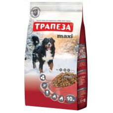 Трапеза MAXI сбалансированный сухой корм для крупных собак с нормальной активностью, 10кг (P40780)