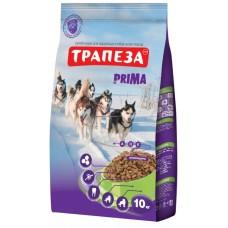 Трапеза PRIMA сбалансированный сухой корм для взрослых собак с высокой и продолжительной физической активностью, 10кг (P40781)