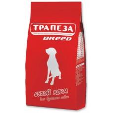 Трапеза BREED сбалансированный сухой корм для взрослых собак с нормальной физической активностью, 18кг (P40724)