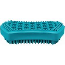 Trixie Щетка массажная, натуральная резина, 6 х 12 см (P36480)