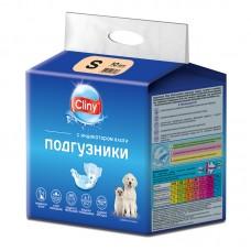 Экопром Cliny Подгузники для собак и кошек 3-6 кг размер S (10 шт.) (P34665)