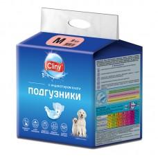 Экопром Cliny Подгузники для собак и кошек 5-10 кг размер M (9 шт.) (P34666)
